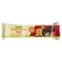 Baton cu martipan, caise si ciocolata amaruie