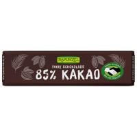 Ciocolata bio amăruie mică 85% cacao HIH