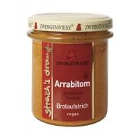 Crema tartinabila vegetala Arrabitom cu arrabiata si tomate