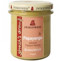 Crema tartinabila vegetala Papayango cu papaya picanta si mango