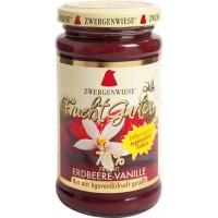Gem de capsuni cu vanilie indulcit cu nectar de agave
