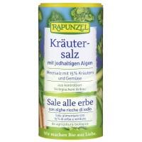 Sare iodată de condimentat cu 15% ierburi şi legume