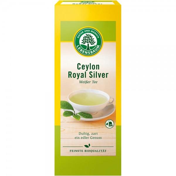 Ceai alb Ceylon Royal Silver x20 plicuri