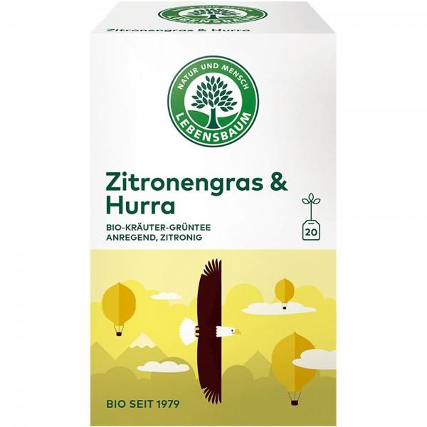 Ceai Iarba de lamaie  & Hurrax20 plicuri