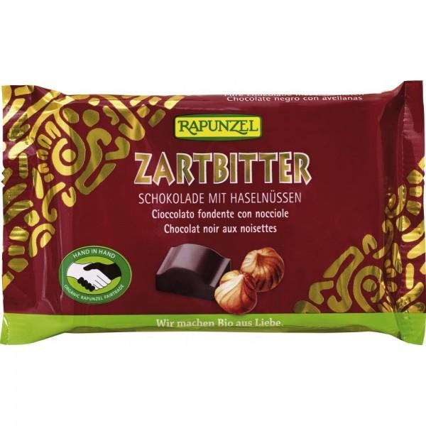 Ciocolata amaruie Cristalino 60% si alune intregi  VEGANA