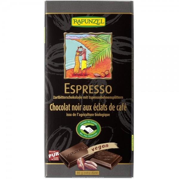 Ciocolata amaruie cu Espresso 55 % cacao VEGANA