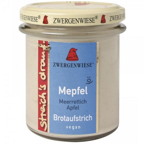 Crema tartinabila vegetala Mepfel cu hrean si mar  FARA GLUTEN