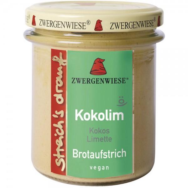 Crema tartinabila vegetala Kokolim cu cocos si limeta FARA GLUTEN
