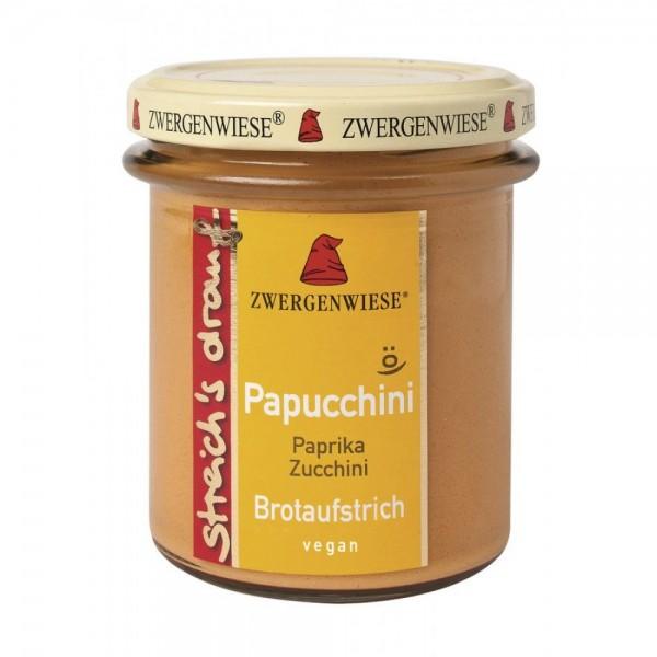 Crema tartinabila vegetala Papucchini cu ardei si zucchini  FARA GLUTEN