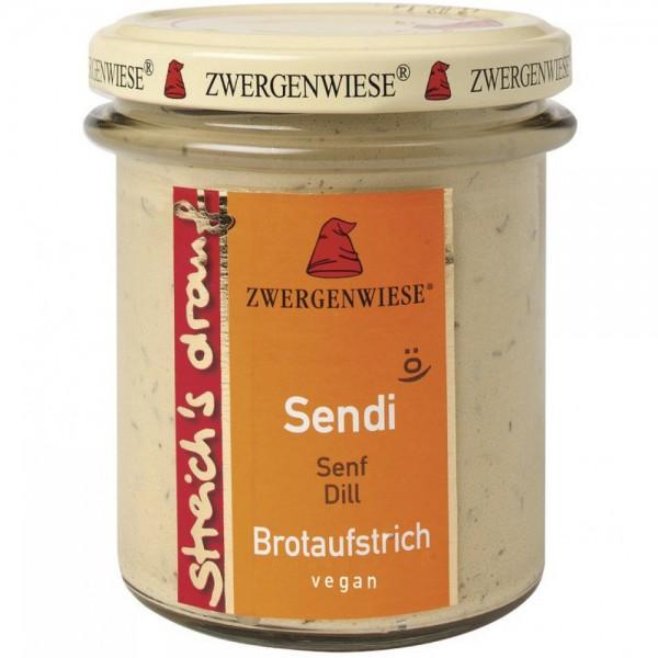 Crema tartinabila vegetala Sendi cu mustar si marar FARA GLUTEN
