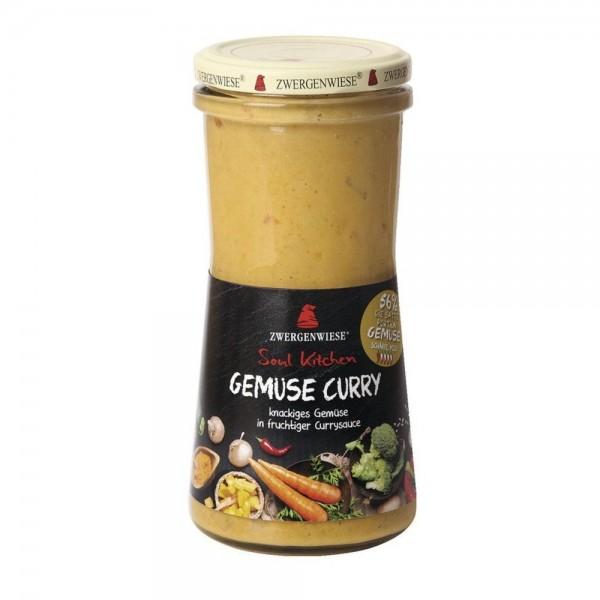 Sos cu legume si curry FARA GLUTEN