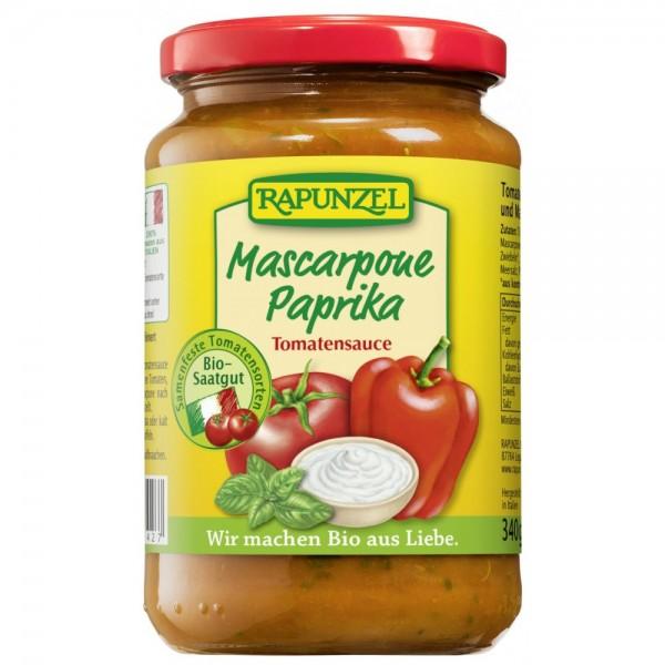 Sos de tomate Mascarpone si ardei
