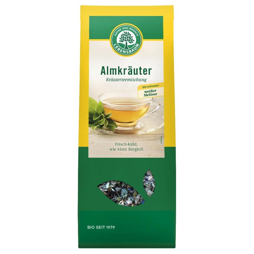 Ceai din ierburi alpine
