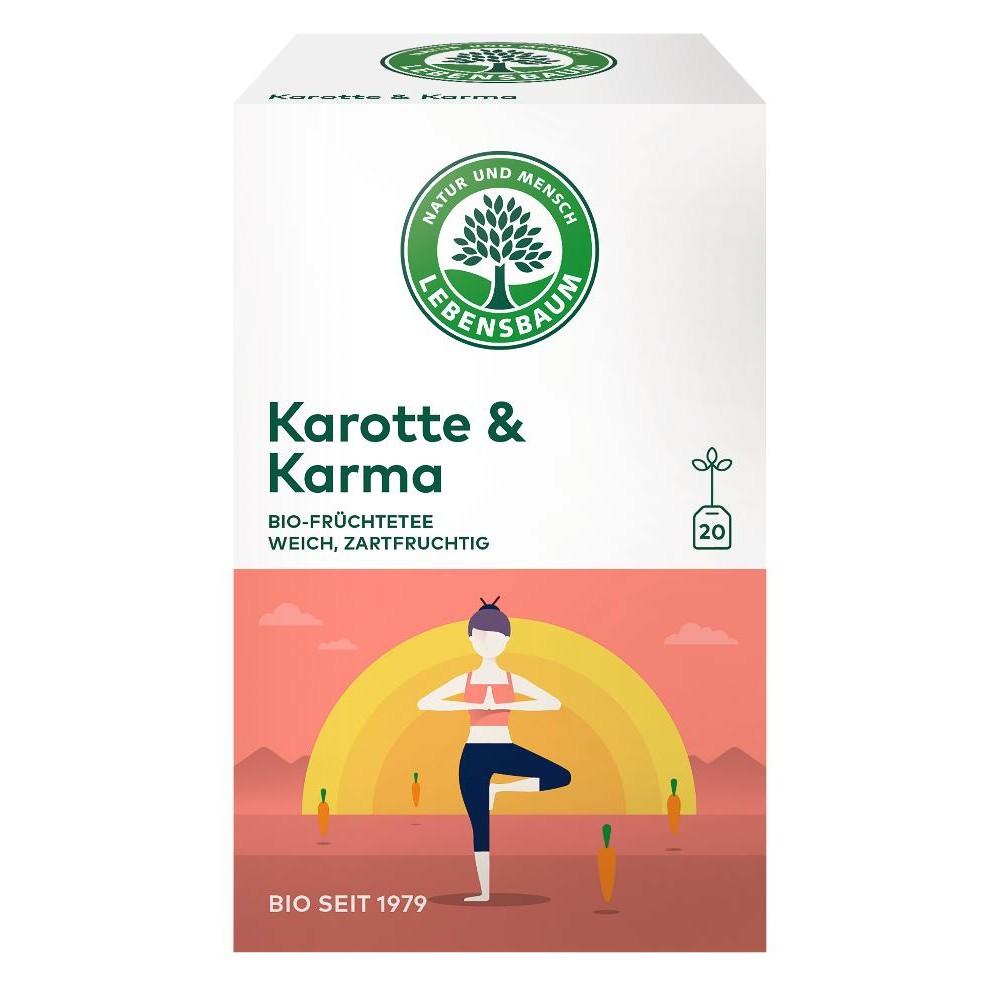 Ceai Morcov & Karma x20 plicuri
