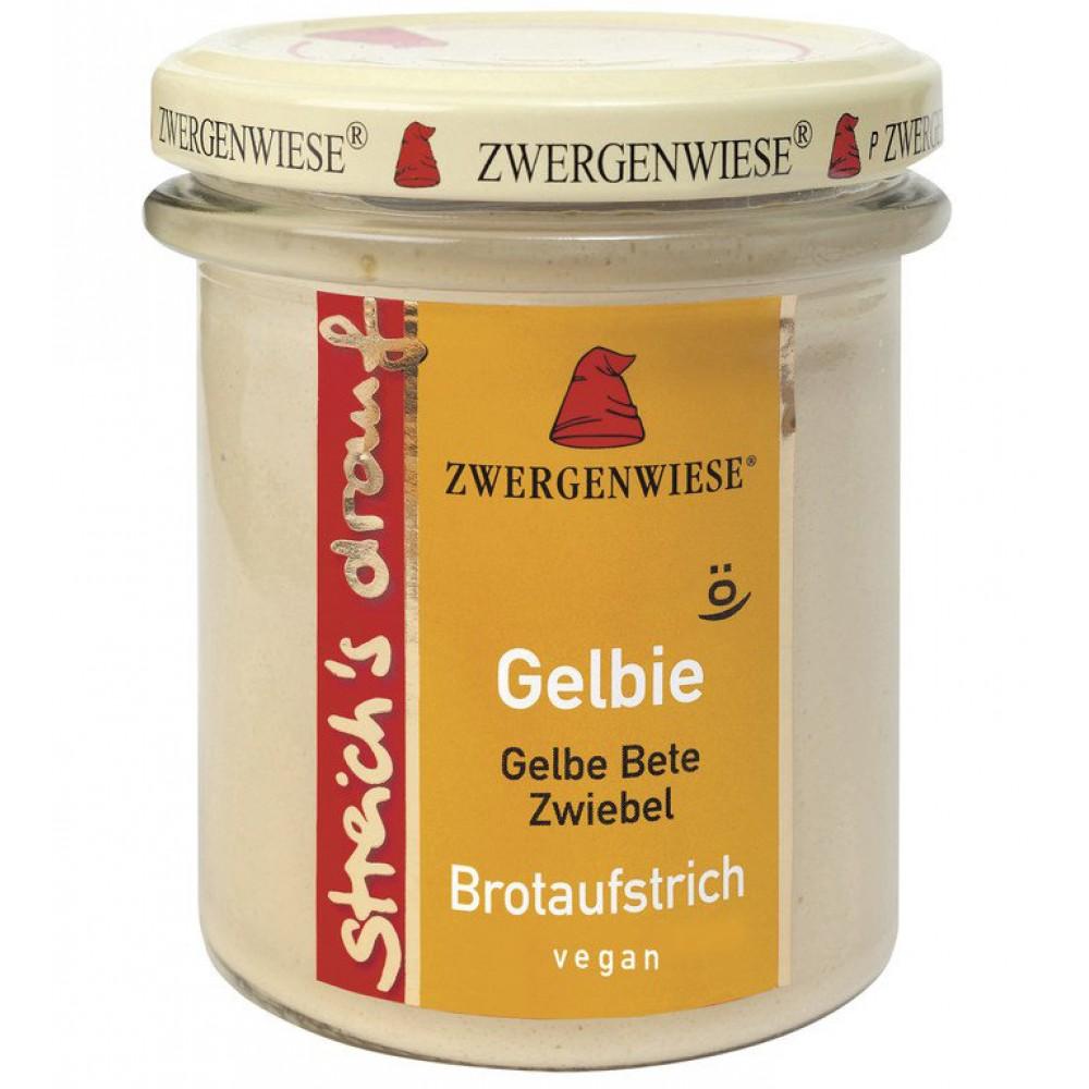 Crema tartinabila vegetala Gelbie cu sfecla galbena si ceapa
