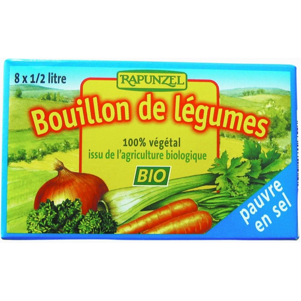 Cuburi de supă de legume cu puţină sare