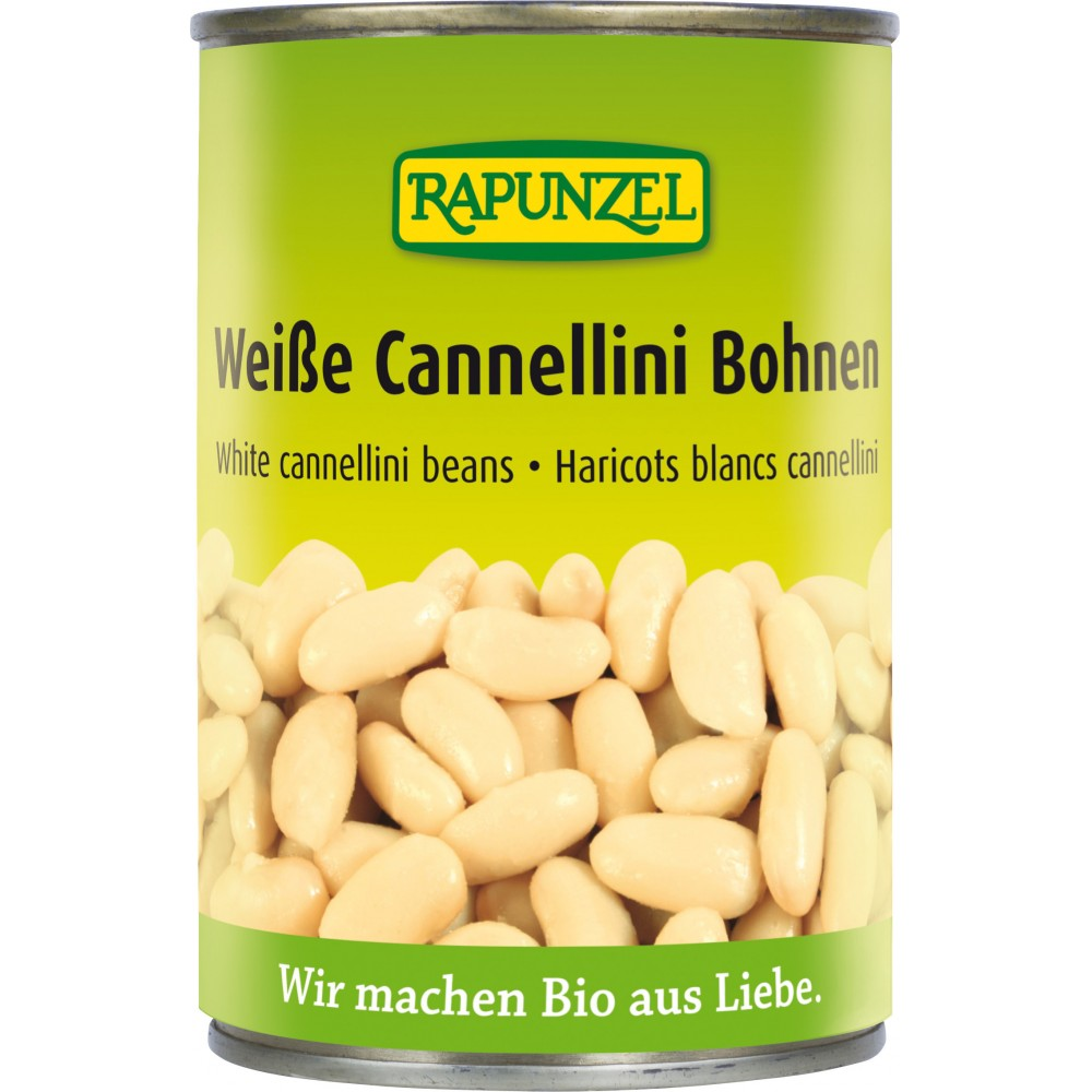 Fasole alba bio Cannellini la doză