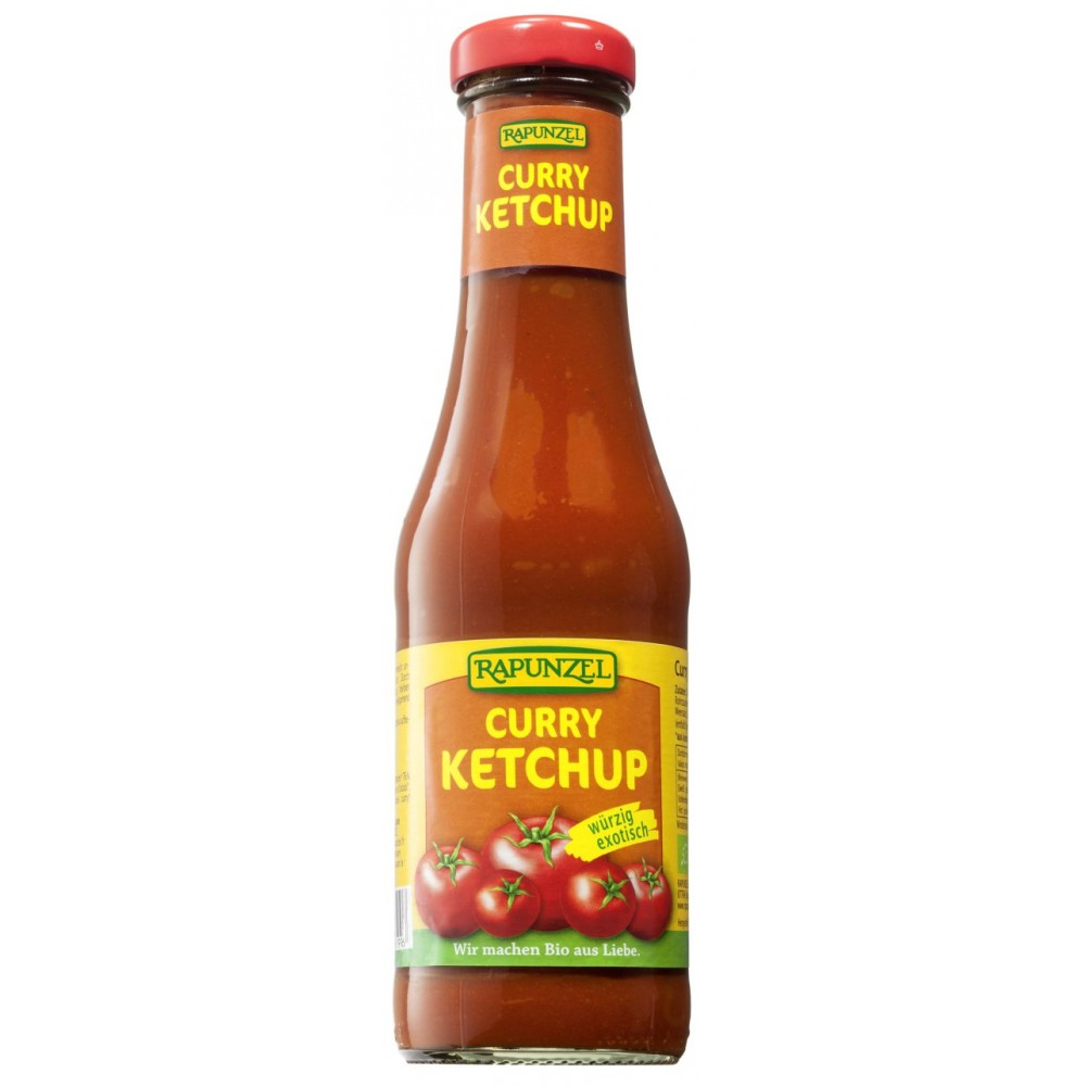 Ketchup de tomate Curry