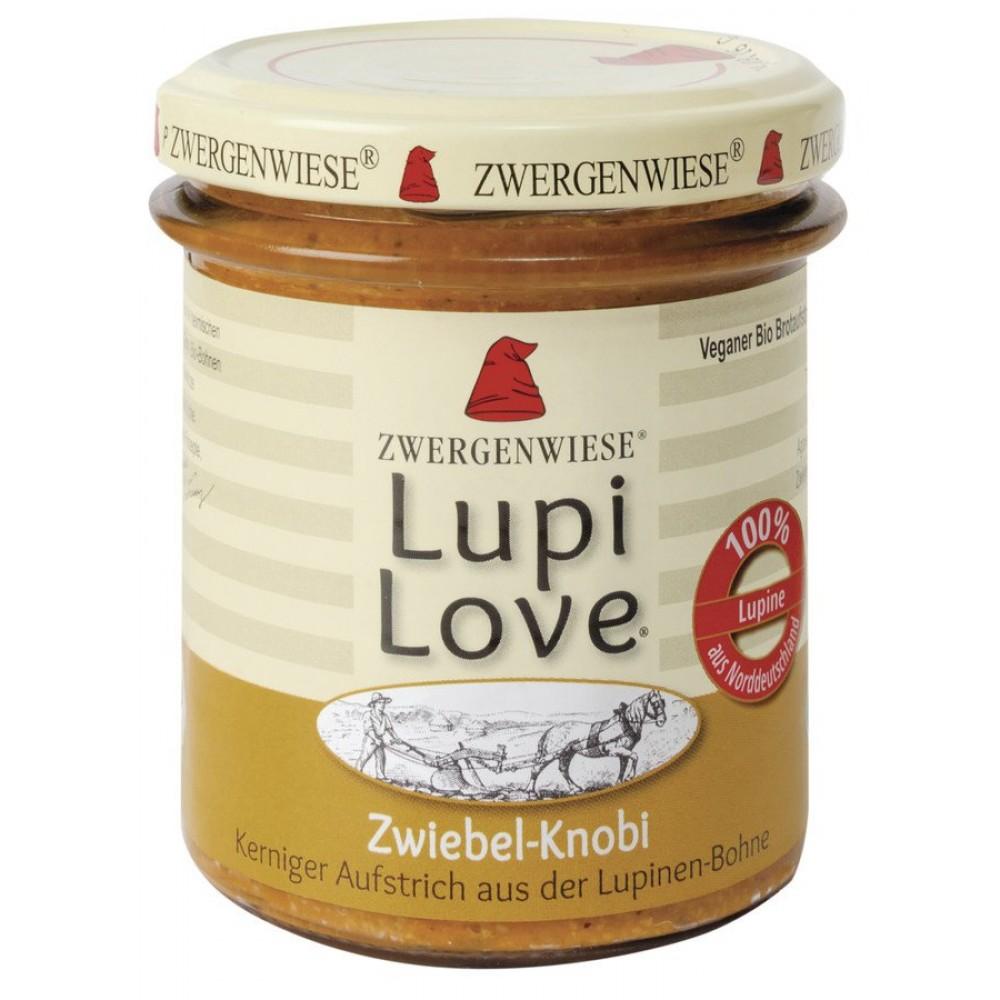 Lupi Love crema tartinabila din lupin cu ceapa si usturoi FARA GLUTEN