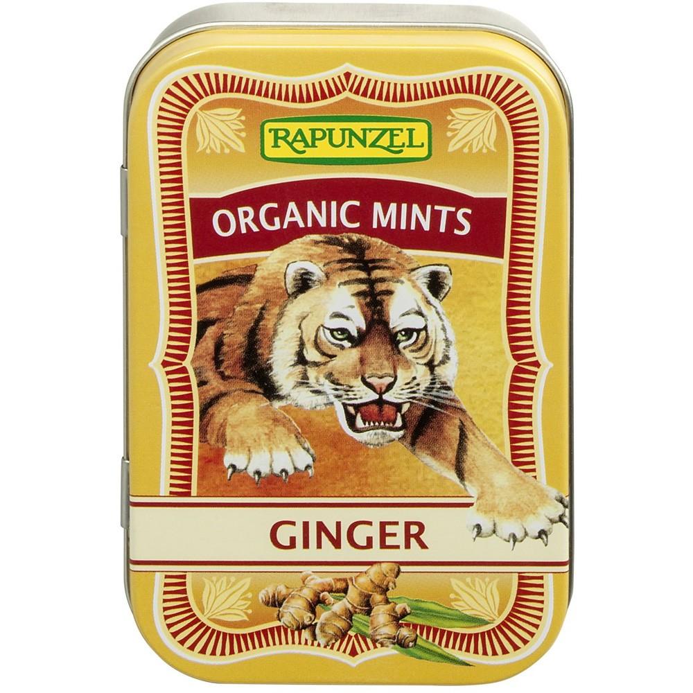 Mints - Drajeuri ecologice ghimbir HIH