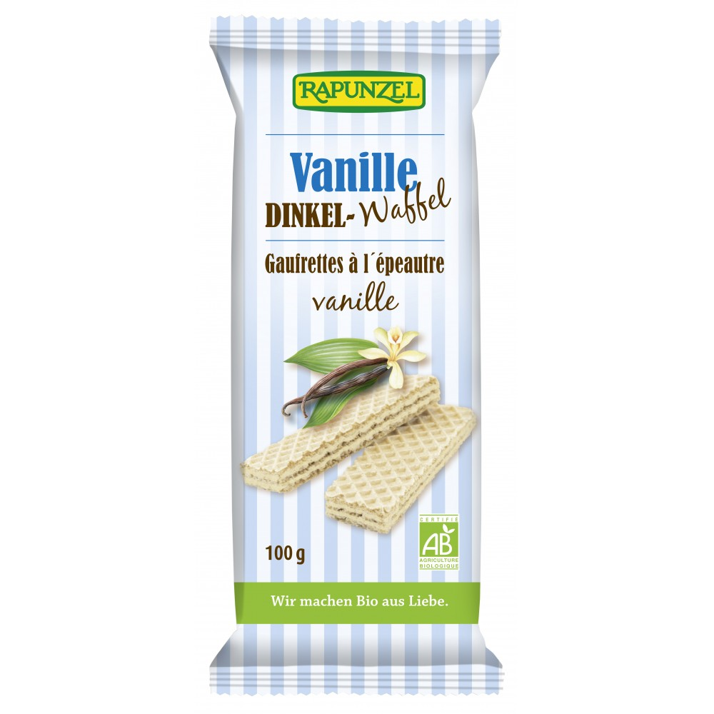 Napolitana bio cu  vanilie