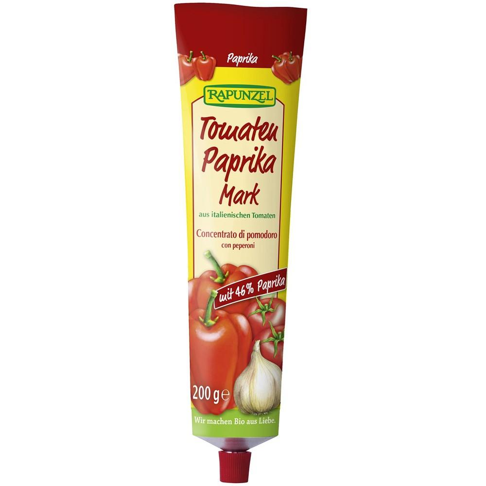 Pasta de tomate cu ardei, in tub