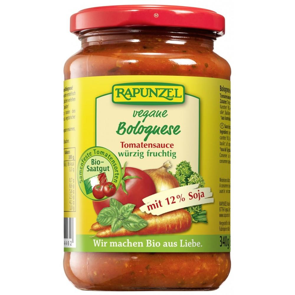Sos de tomate Bolognese vegetarian, cu soia