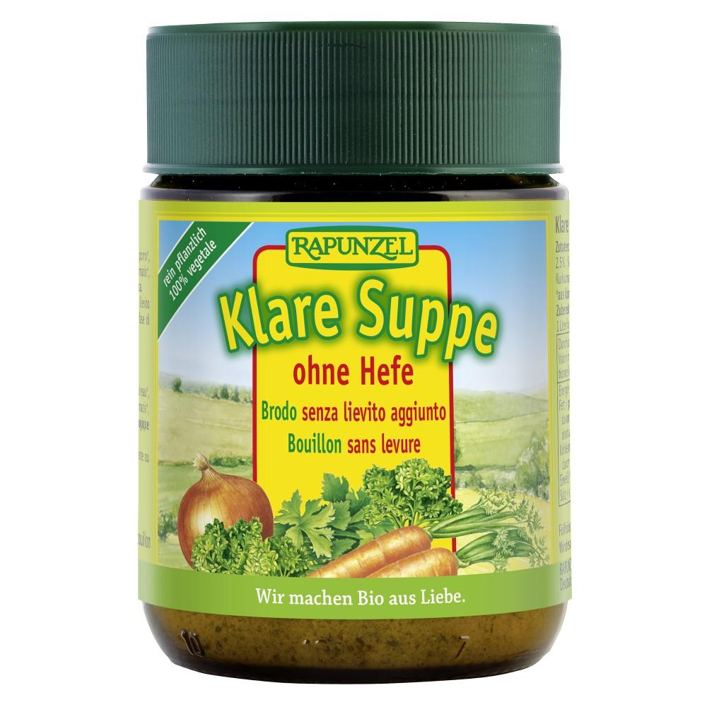Supă clară fără drojdie